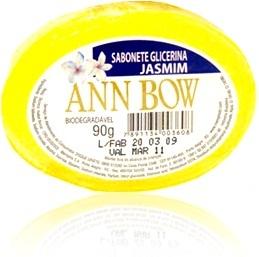 sabonete glicerina jasmim ann bow biodegradável, memphis