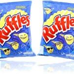 pacotes de batatas fritas ruffles original