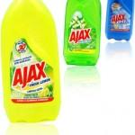 limpadores ajax fresh lemon limpeza profunda sem agressão, festa das flores, oxy, mitologia