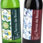 vinhos branco e tinto terras de baco, portugal, português, mitologia