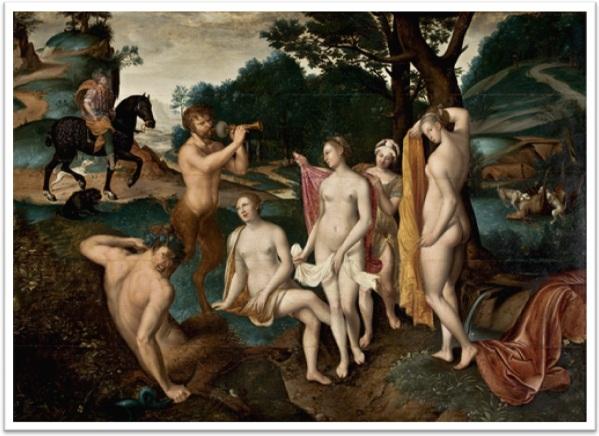 o banho de diana de françois clouet (1515–1572), museu de arte de são paulo, masp