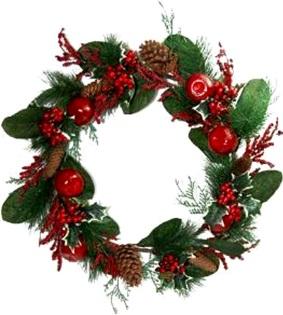 guirlanda de natal, decoração de natal, enfeites, festa natalina, merry christmas