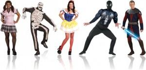 fantasias de carnaval colegial, esqueleto, branca de neve, homem aranha e guerra nas estrelas