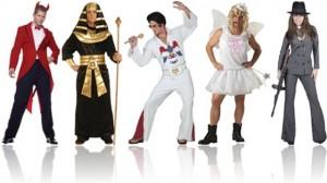 fantasias de carnaval de diabo, egípcio, elvis presley, fada, gangster