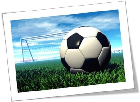 futebol bola gol trave gramado campo soccer field ball