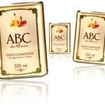 óleo composto de soja e oliva abc de minas inco, alfabeto