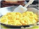 cook until done frite os ovos até que estejam prontos