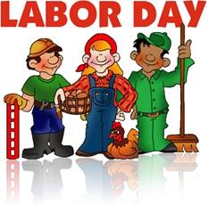 dia do trabalhador, labor day, trabalhadores bombeiro, mecânico agricultor, varredor de rua, gari
