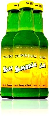 caipirinha, limão, açúcar, gelo, garrafa, sambala