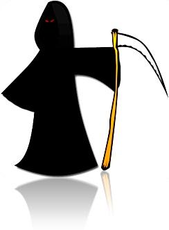the death morte machado foice halloween