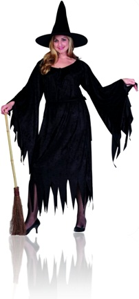witch and broom Halloween Vocabulary   Vocabulário do Dia das Bruxas