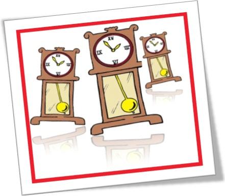 relógios andando, relógios de pêndulo, relógios antigos, relógios velhos