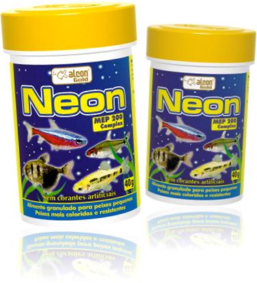 neon alcon gold alimento para peixes ornamentais