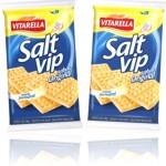 bolacha, biscoito vitarella salt vip original, lanche, snack