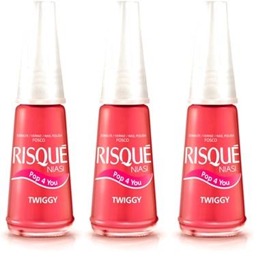 esmalte para unhas risqué twiggy pop 4 you