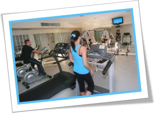 Usos de fitness para aluno que quer manter o ingl s em for Que significa gym