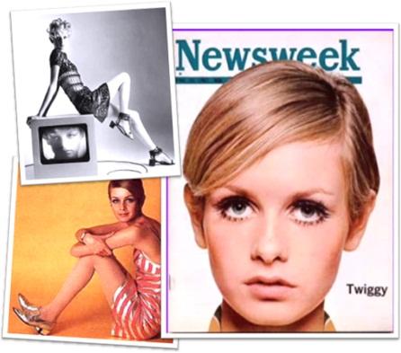 modelo twiggy, lesley hornby, top model
