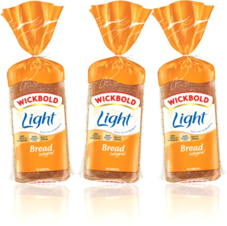 wickbold light bread pão integral, pão de forma fatiado