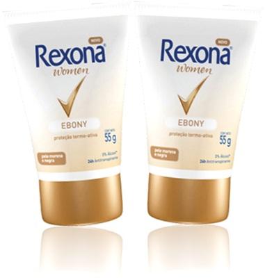 desodorante rexona women ebony para pele morena e negra