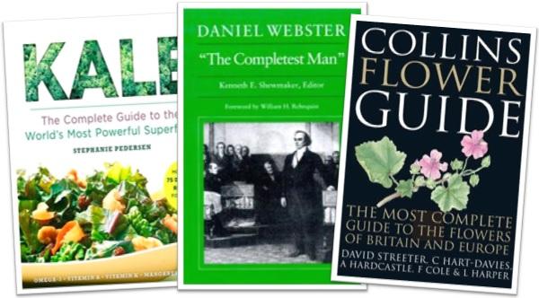 the most complete, the completest, graus comparativo e superlativo de complete em inglês