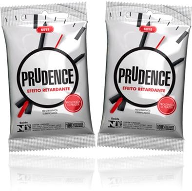 camisinha, preservativos lubrificados prudence efeito retardante