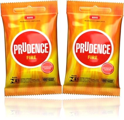 camisinhas preservativos lubrificados prudence fire