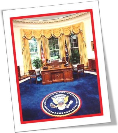 the oval office, the resolute table