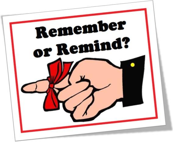 remember or remind, quando usar remember e remind em inglês