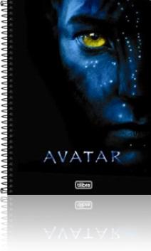 caderno universitário espiral tilibra avatar
