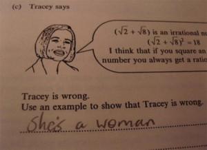 funny answer, pérolas de estudantes, erros, gramática, ortografia, inglês, mulher