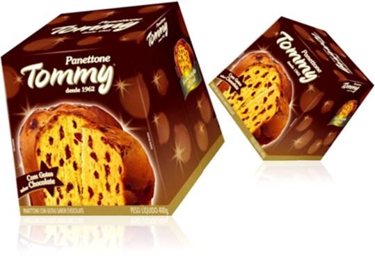 panettone tommy com gotas de chocolate