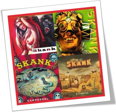 cd da banda mineira skank, o que significa skank, discografia skank