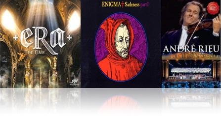 sucessos, hits, músicas em latim cd e dvd era, enigma, andré rieu