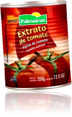 extrato de tomate palmeiron, tomato extract, tomato puree, paste,  sauce