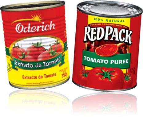 oderich extrato de tomate, redpack tomato puree, tomates, tomatoes