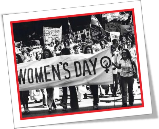 dia internacional da mulher, international women's day, passeata