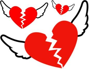 broken hearts, corações partidos, fim, relacionamento, amor, namorada, girlfriend