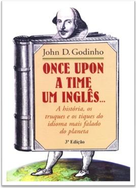 capa do livro once upon a time um inglês do autor john d. godinho