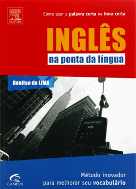 livro inglês na ponta da língua, denilso de lima, campus, elsevier