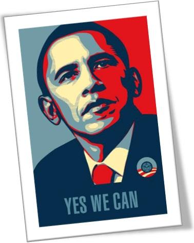 yes we can,  verbos modais, modal verbs, barack obama, política