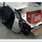a quick-and-dirty sidecar, um carrinho safa-onça