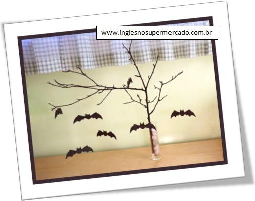 halloween, árvore de morcegos, bat trees, dia das bruxas, decoração