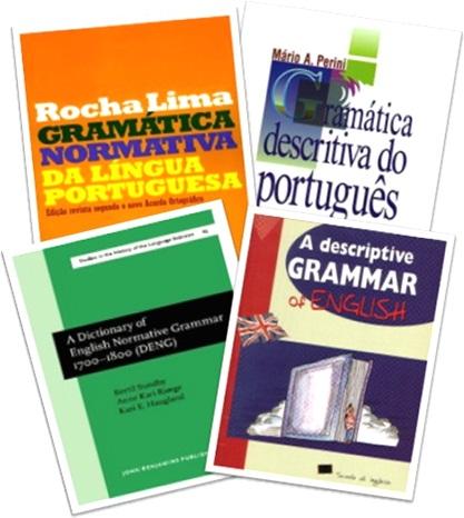 regras normativas e descritivas, gramáticas normativa e descritiva, normative and descriptive grammars of english