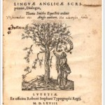 gramática do inglês, de recta et emendata linguae anglicae scriptione dialogus, sir thomas smith