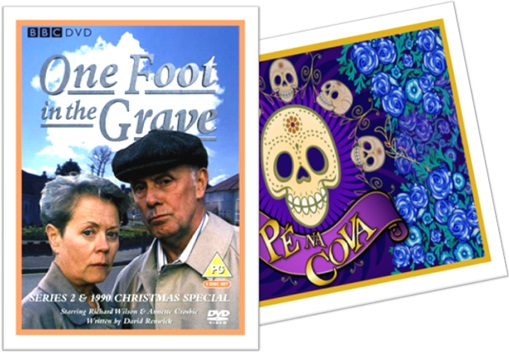 filme one foot in the grave, novela pé na cova
