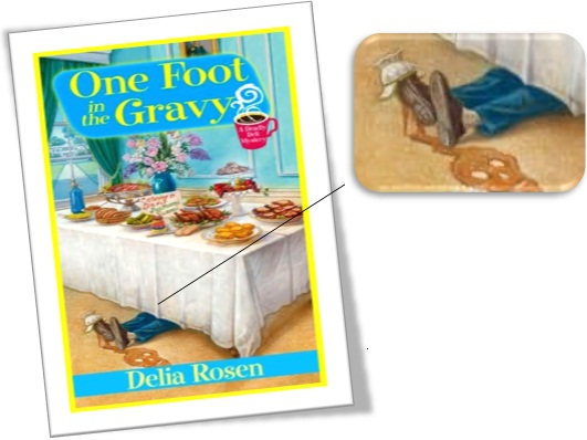 capa do livro one foot in the gravy by delia rosen