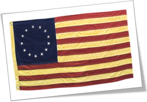 Betsy Ross Flag, First official flag of the United States