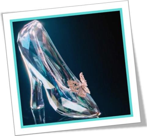 sapatinho de cristal de cinderela, glass slipper, conto de fadas de cinderella
