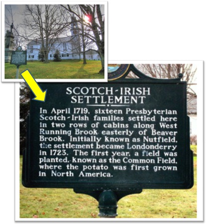scots-irish marker, scotch-irish settlement marker