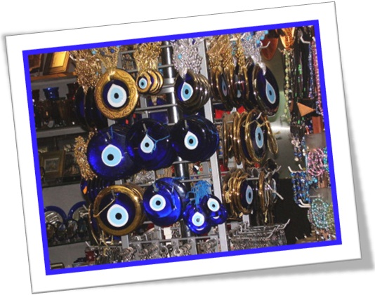 nazar, olho turco, pedra contra mau-olhado, blue eye, amuleto